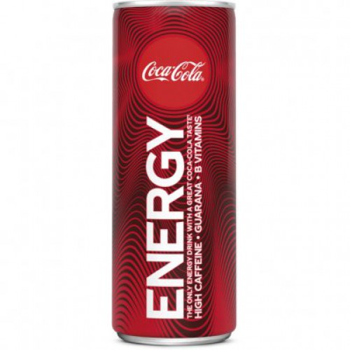 Coca Cola Energy 1/2 Tray
