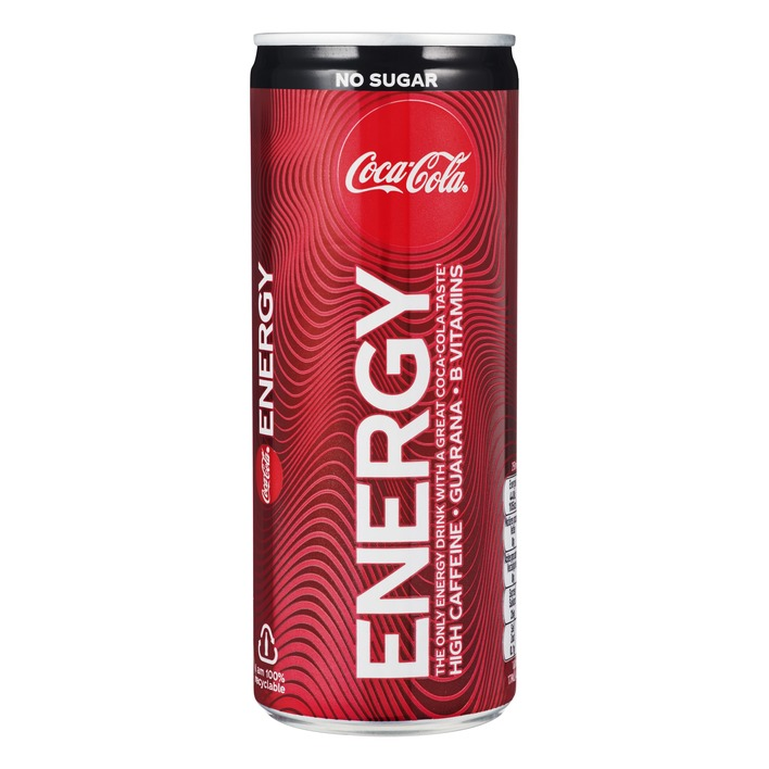 Coca Cola Energy No Sugar 1/2 Tray