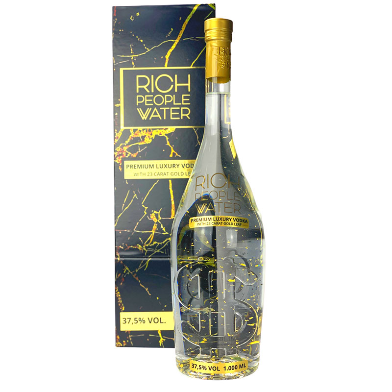Rich People Water Premium Rum 1L