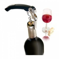 vacu-vin-waiters-corkscrew-black - VIPER