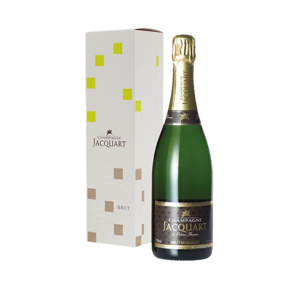 Champagne Jacquart Mosa�que brut (in geschenkverpakking)