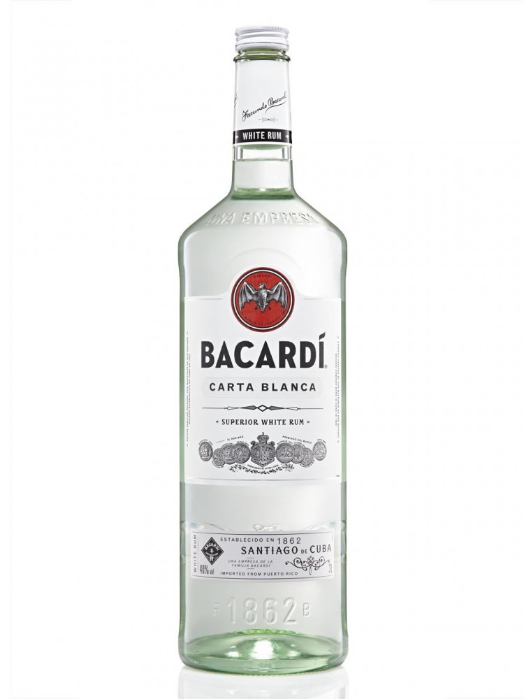 Bacardi carta blanca 3000ml