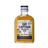old-captain-caribbean-rum-brown-200ml - L-18-735-00