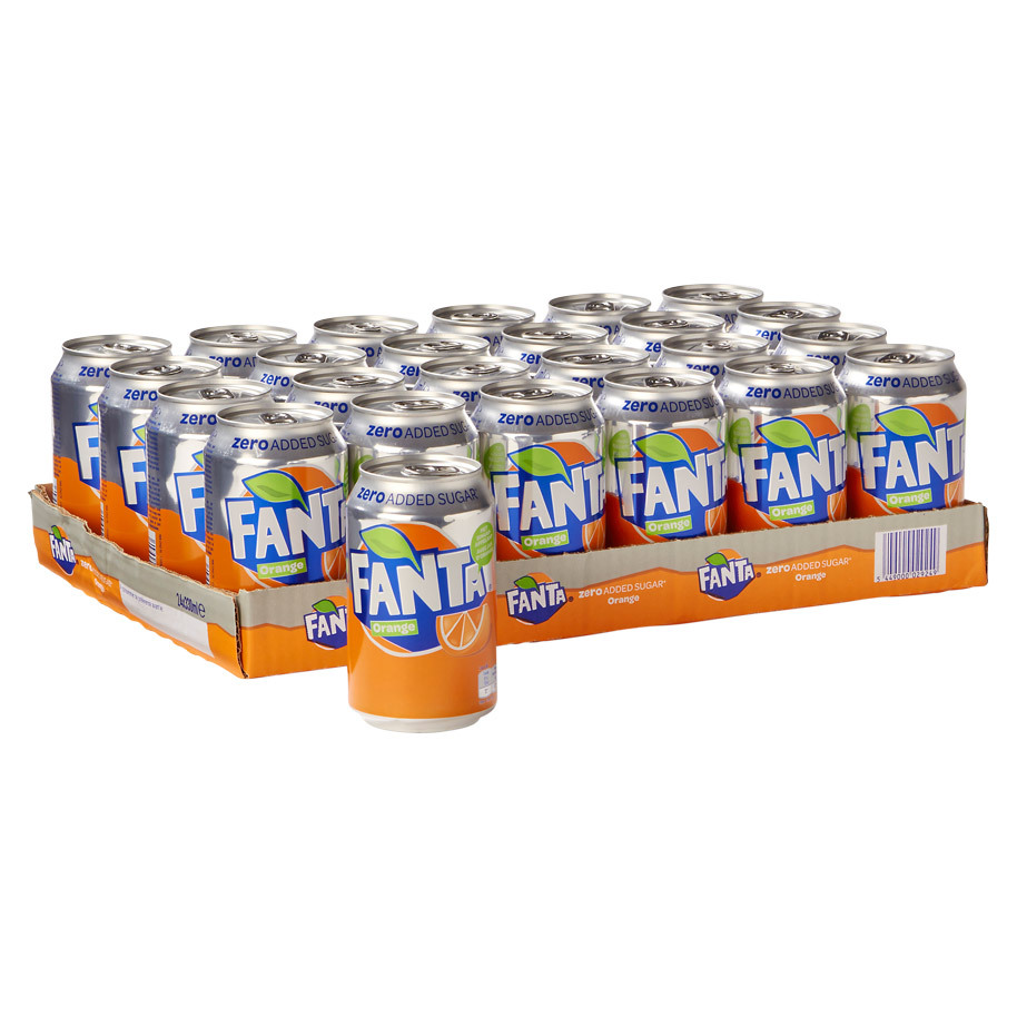 Fanta Orange Zero Tray