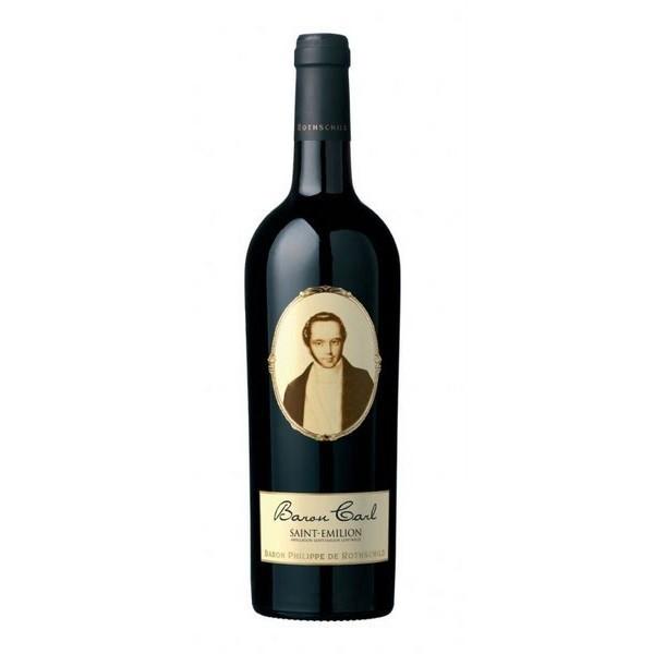 Baron Carl AC Saint-Emilion Rode wijn Frankrijk