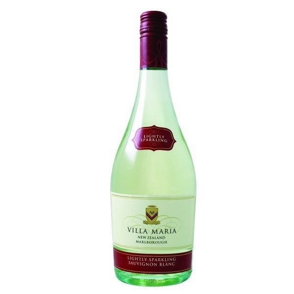 Wijny, Villa Maria Private Bin Lighty Sparkling Sauvignon Blanc Marlborough