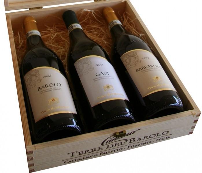 Wijny, Terre del Barolo Geschenkpakket