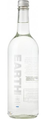 Earth Water (bruisend) Glas 75cl