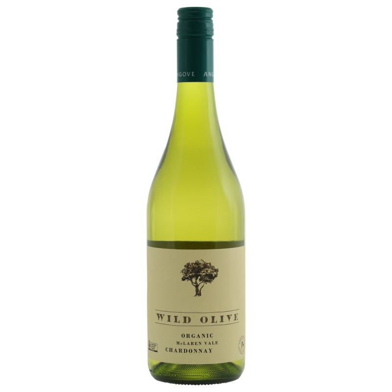 Angove Wild Olive Organic Chardonnay Witte wijn Australië
