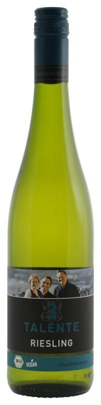 3 talente BIO Vegan Riesling Witte wijn Duitsland