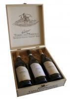 Wijny, Terre del Barolo 3 vaks kist Exclusief flessen