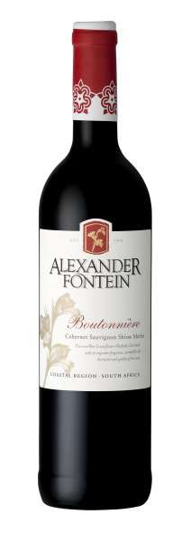 Alexander Fontein Boutonniere Rouge Rode wijn Zuid Afrika