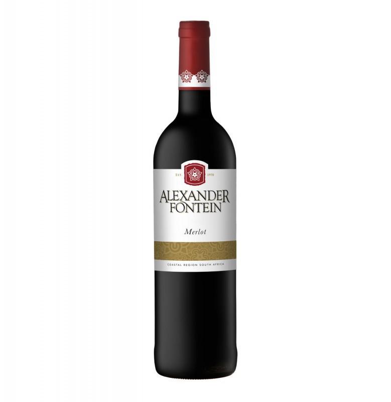 Alexander Fontein Merlot Rode wijn Zuid Afrika
