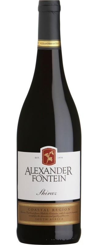 Alexander Fontein Shiraz Rode wijn Zuid Afrika