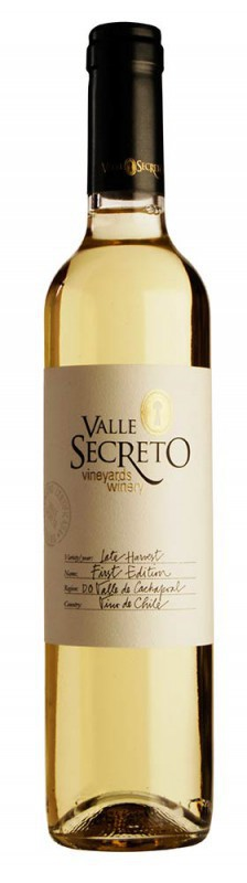Valle Secreto First Edition Late Harvest Viognier wijny