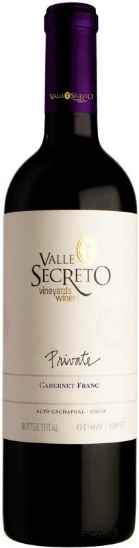 Valle Secreto Private Edition Syrah Cabernet Franc wijny