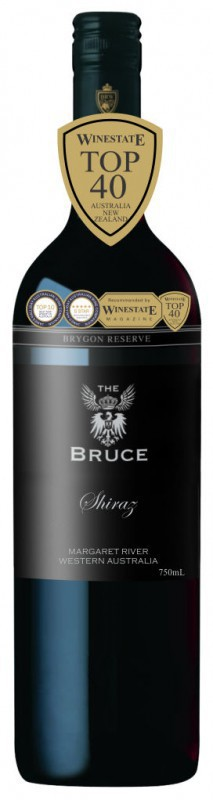 The Bruce Shiraz wijny