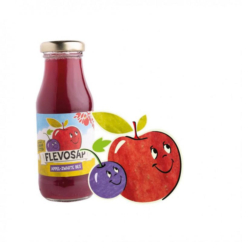 Flevosap Appel-Zwarte Bes klein wijny