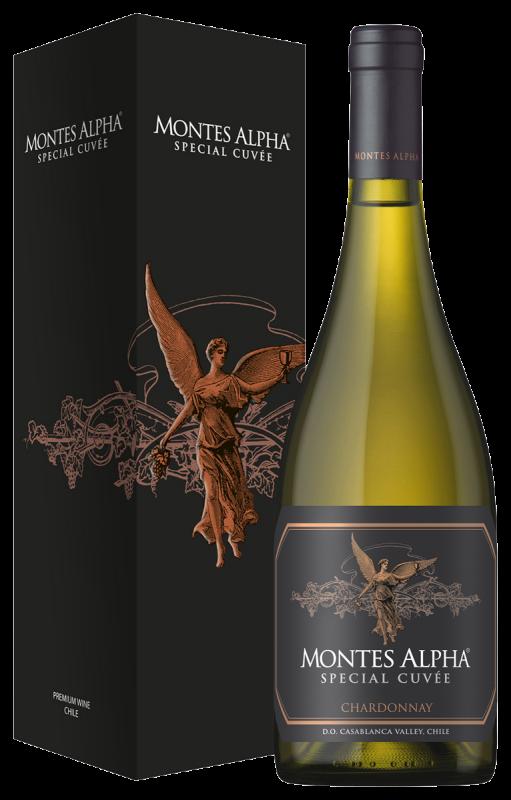 Montes Alpha Special Cuvée Chardonnay (in giftbox) wijny